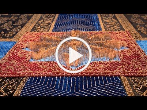 APT9/ Artist Stories: Aisha Khalid discusses her hanging tapestry