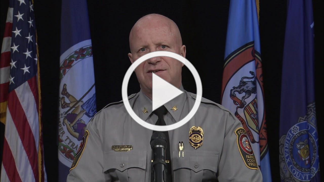 Fairfax County Police Chief Col. Edwin C. Roessler Jr. Address Coronavirus Concerns