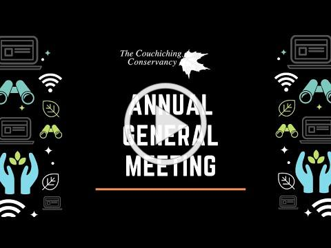 2021 Annual General Meeting Recording
