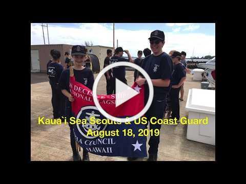 Kauai Sea Scouts and Coast Guard