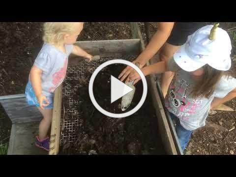 Kiddos and Compost