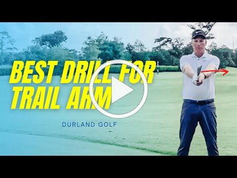 GOLF TIP | BEST DRILL For The TRAIL ARM In The Backswing