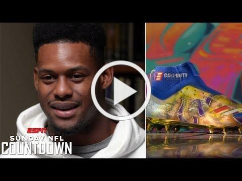JuJu Smith-Schuster's My Cause, My Cleats have a special inspiration | NFL Countdown
