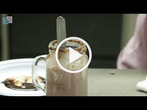 Cooking with Miss Ashley: S'mores smoothie