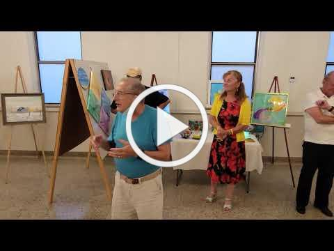 Art Show August 6, 2021. (Video #3)