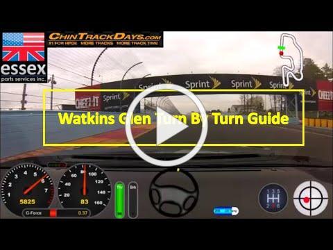 Watkins Glen Turn By Turn Guide
