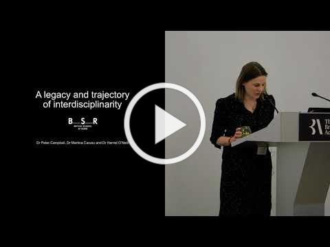 A lecture by BSR Assistant Directors: A legacy and trajectory of interdisciplinarity at the BSR