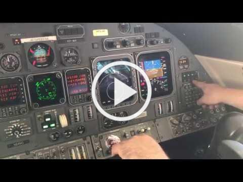 Lear Jet 60 ADS-B Out Installation