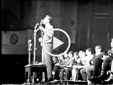 Never Again The A Bomb Pete Seeger 17 24 1963