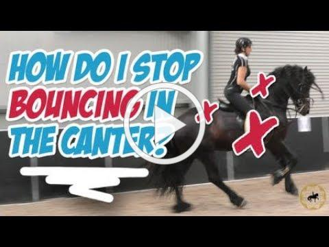 How do I stop bouncing in the canter? - Dressage Mastery TV Ep 307