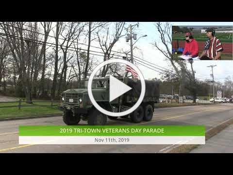 2019-11-11 Tri-Town Veterans Day Parade