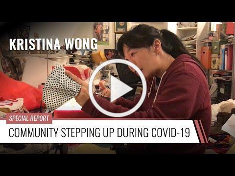 Community Stepping Up During COVID-19: Kristina Wong