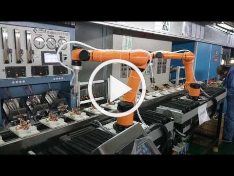 AUBO i5 - Metal processing