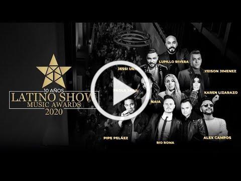 LATINO SHOW MUSIC AWARDS 2020
