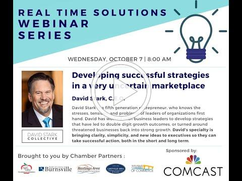 Real-Time Solutions Webinar: Developing successful strategies in a very uncertain marketplace