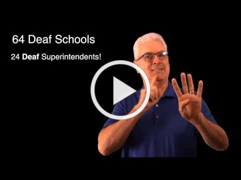 What's Up: Deaf Superintendents & Lawyers