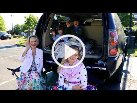 """Drive-in church"" at 9:30 & 10:45 AM this Sunday, May 17"