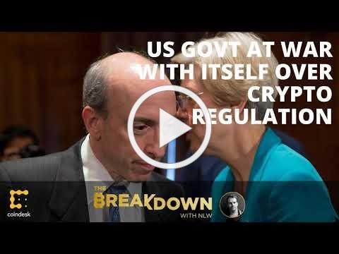 Is the US Government at War With Itself Over Crypto Regulatory Authority?