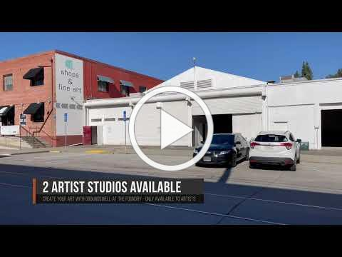 Artist Studios available at The Groundswell Foundry