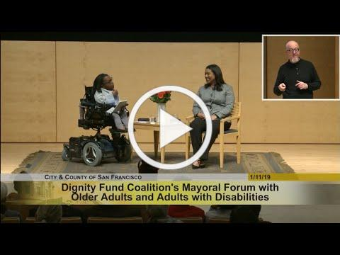 DFC-Mayor Breed Town Hall on Seniors & People with Disabilities 2019