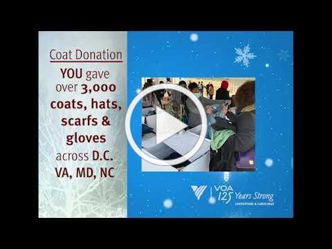 VOACC 2020 Coat Drive & Adopt-A-Family