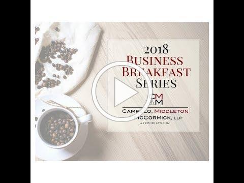 CMM Business Breakfast 1.31.18