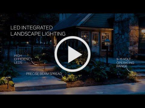LED Integrated Landscape Lighting