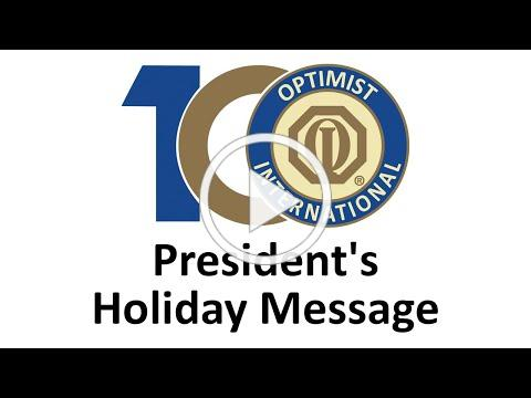 President's Holiday Message