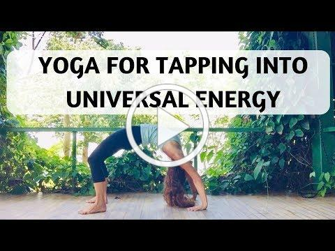 YOGA FOR TAPPING INTO UNIVERSAL ENERGY - YOGA WITH MEDITATION MUTHA
