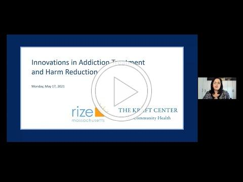 Innovations in Addiction Treatment and Harm Reduction