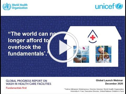 Fundamentals First: Global webinar to mark launch of new WHO/UNICEF global progress report