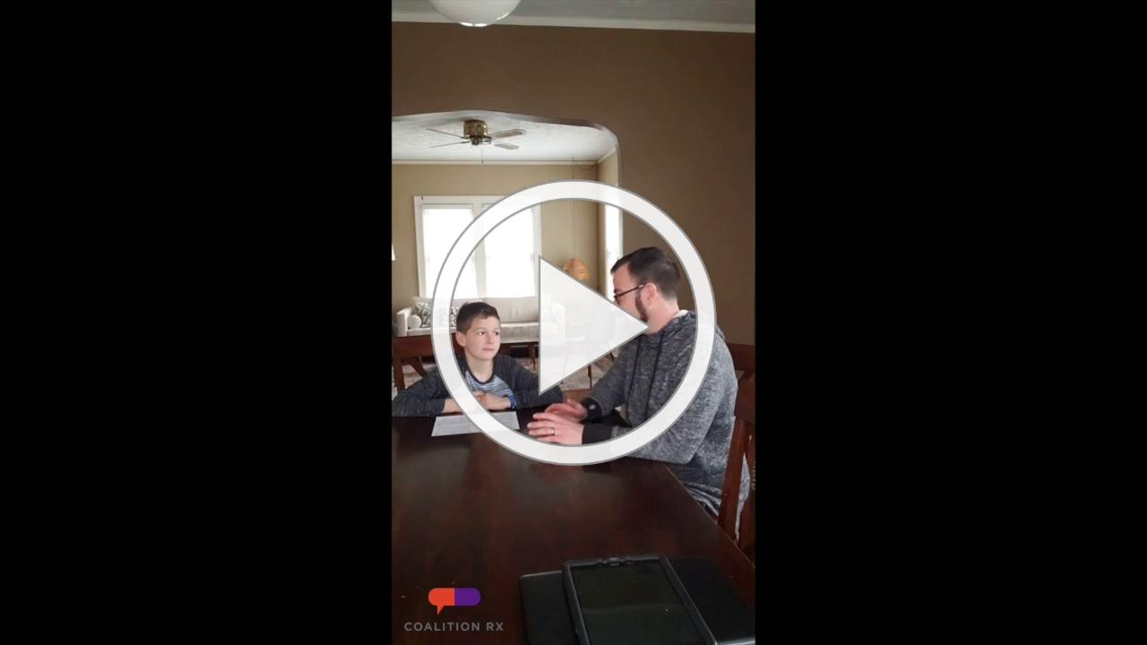 """Jacob Peterson - Strengthening Families 10-14 """"When you were my age?"""" Activity"""
