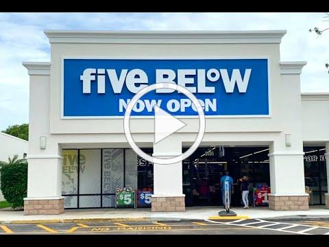 Five Below Store Grand Opening and Ribbon Cutting Ceremony