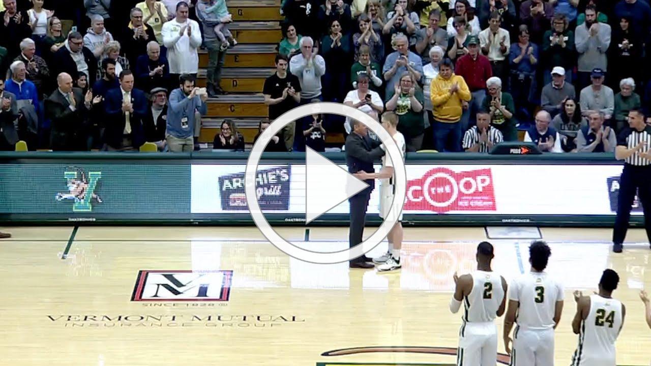 Men's Basketball: Josh Speidel Opens Scoring on Senior Night (3/3/20)