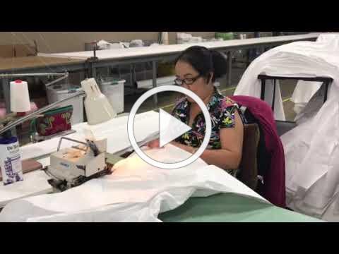 Sewing at ASPIRO