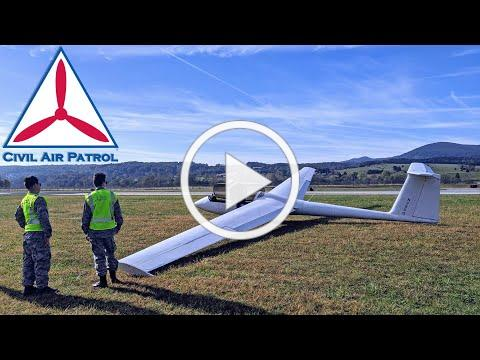 Civil Air Patrol cadets soar silently over West Virginia mountains
