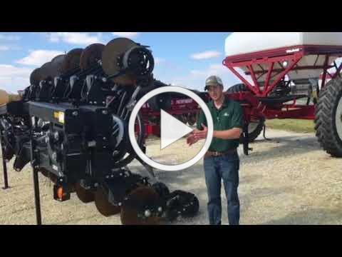 Fertilizer Banding With The Magnum 10000 Unit Fennig Equipment