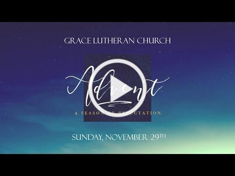 November 29, 2020 Advent Service