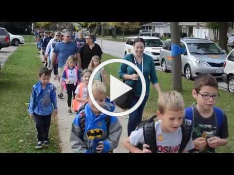 Kingsley celebrates Walk to School Day