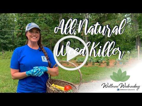All Natural Weed Killer