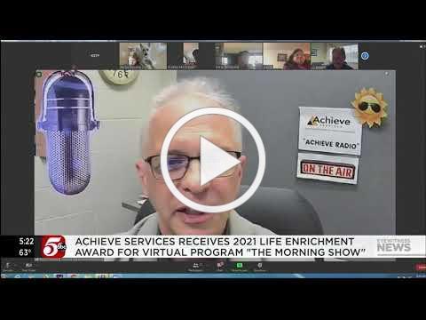 KSTP 5 News - Achieve Services receives 2021 Life Enrichment Award