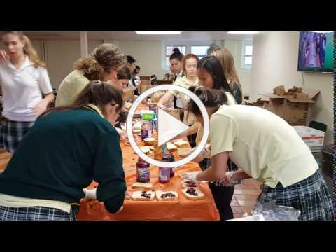 OLMA Students Help the Homeless