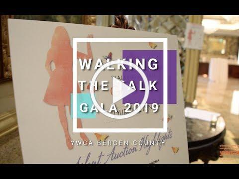 YWCA Bergen County Walking the Talk Gala 2019 in motion!
