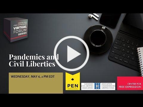 CFE Virtual Forum Series: Pandemics and Civil Liberties