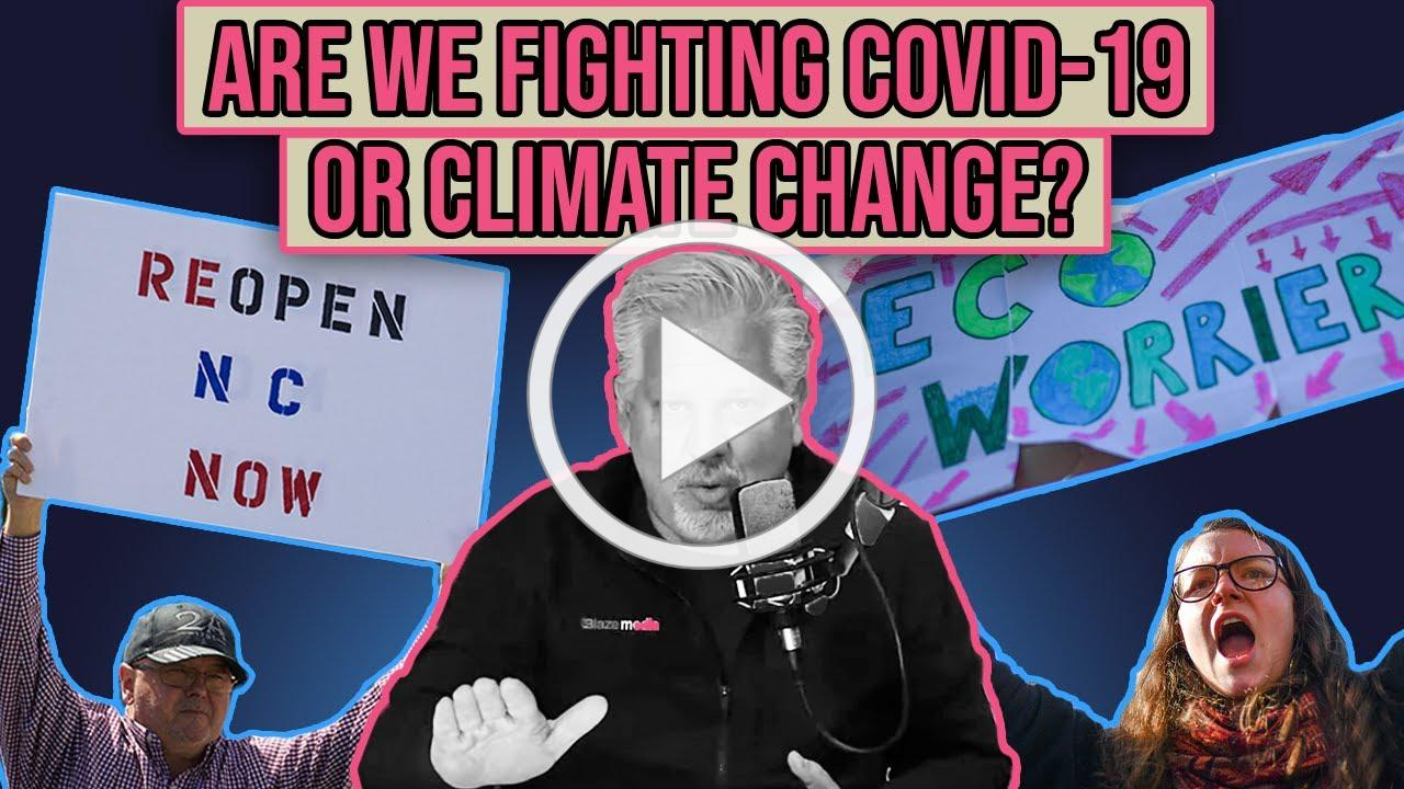 THEY'RE TESTING US: The Degrowth Movement & How Coronavirus Pandemic Helps Left Fight Climate Change