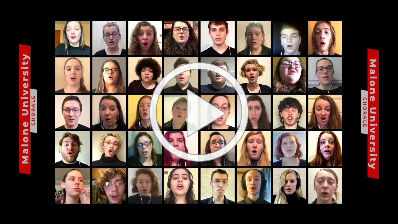 The Lord Bless You and Keep You-- The Malone University Chorale VIRTUAL CHOIR