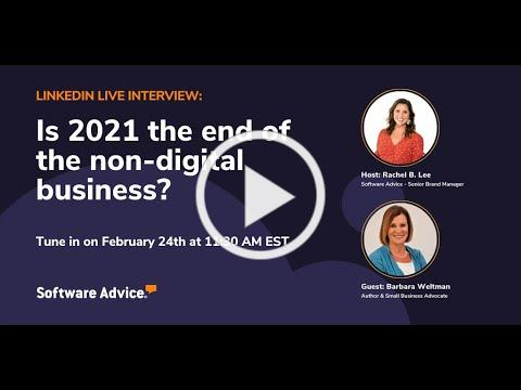 Exclusive Interview - Is 2021 The End of Non Digital Businesses?