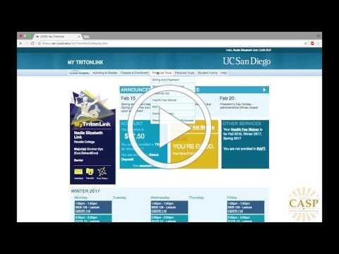 Tritonlink GPA Calculator Tutorial | UC San Diego