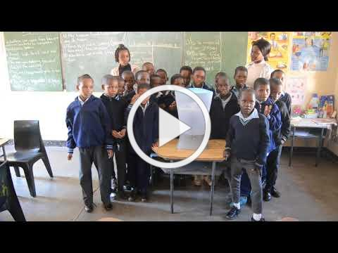 School children in Botswana thank Boise's Longfellow Elementary School