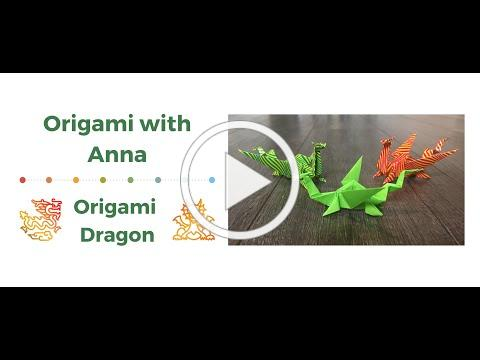 Origami Dragon: Origami with Anna